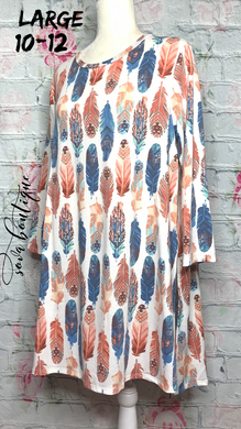 Feather Top - SOVA Boutique