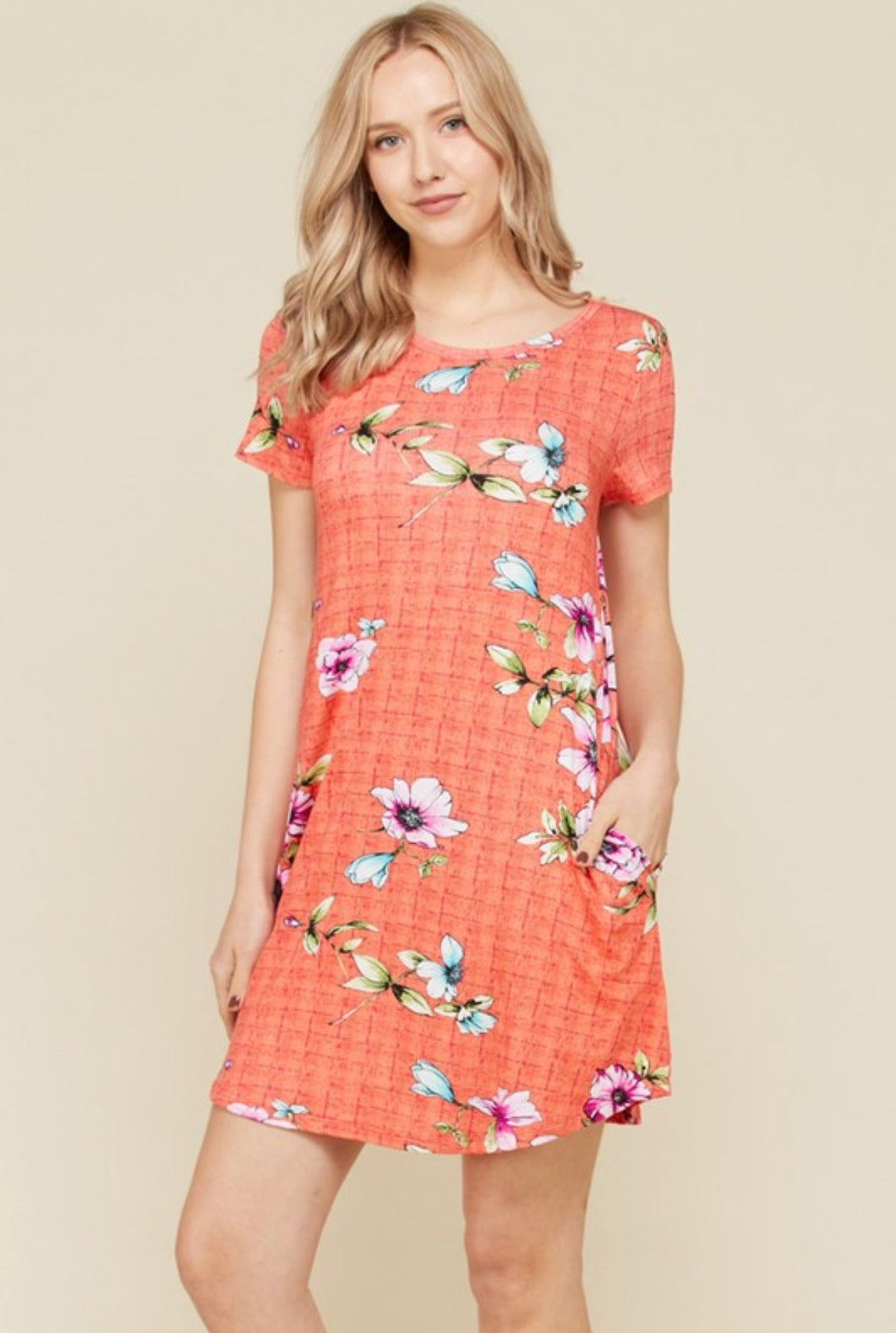 Floral Swing Tunic - SOVA Boutique
