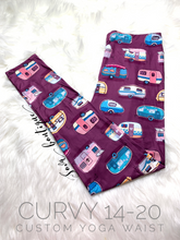 Custom Designed Camping Lovers Leggings | Various Styles