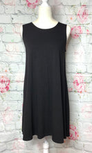 Black Sleeveless Tunic