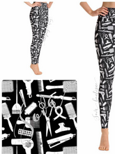 Custom Designed Hairstylist Leggings