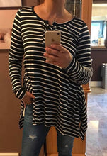 Black & White Striped Top | LILYPAD
