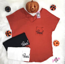 Halloween Boo Sydney Tees | AMELIA JAMES