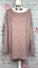 Knit Sweater Top - SOVA Boutique