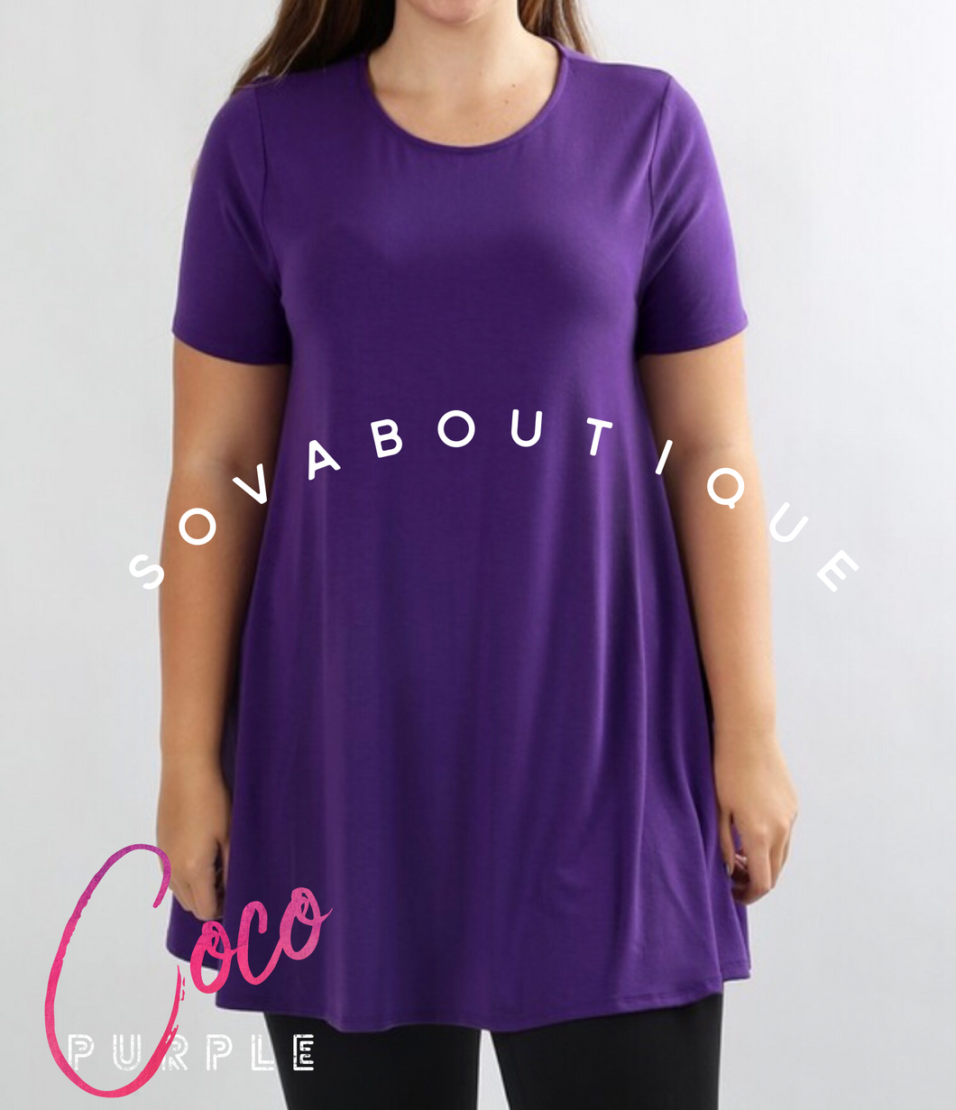 Coco - Tunic with pockets⚜ - SOVA Boutique