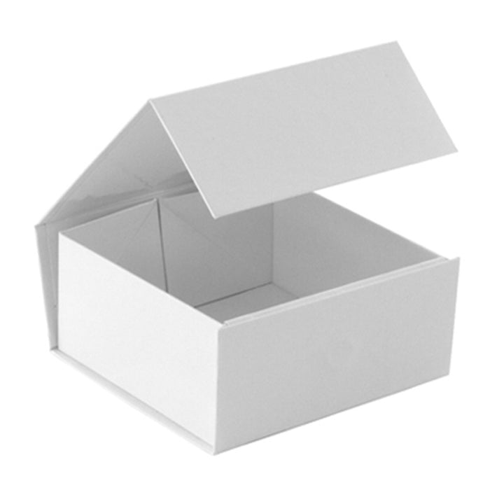 White Magnetic Lid Box