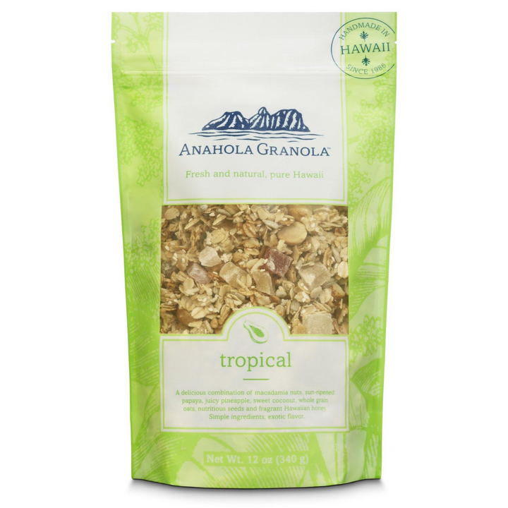 Anahola Granola: Tropical 12oz