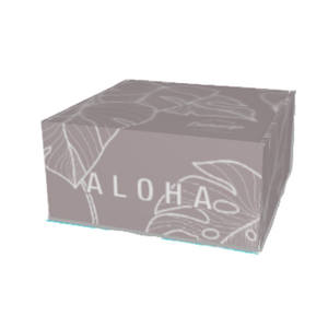 Branded Aloha Monstera Box