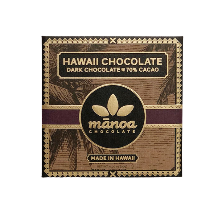 Hawaiian Dark Chocolate 20g