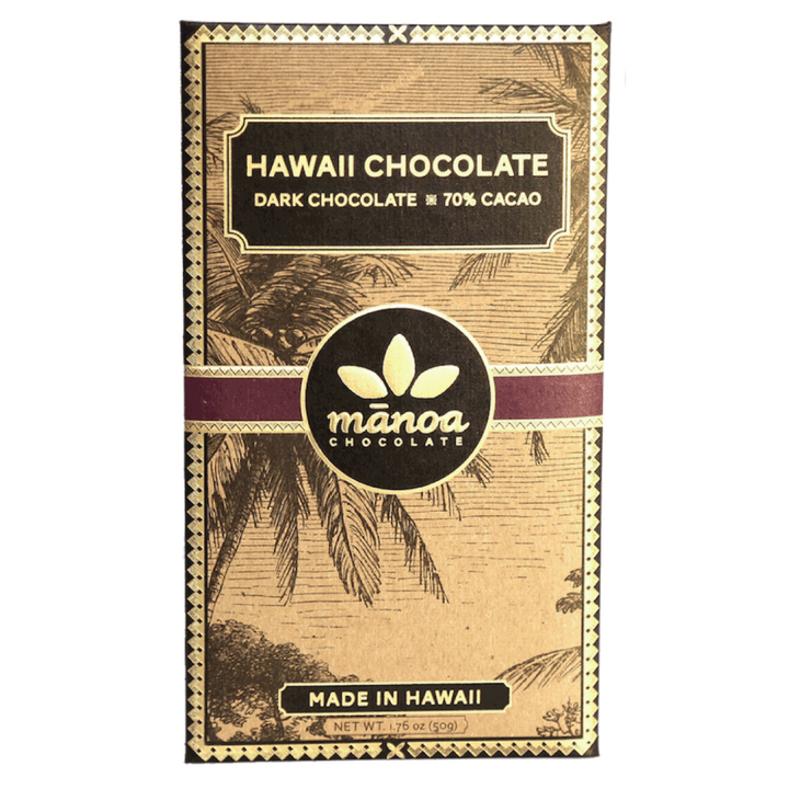 Hawaiian Dark Chocolate 60g
