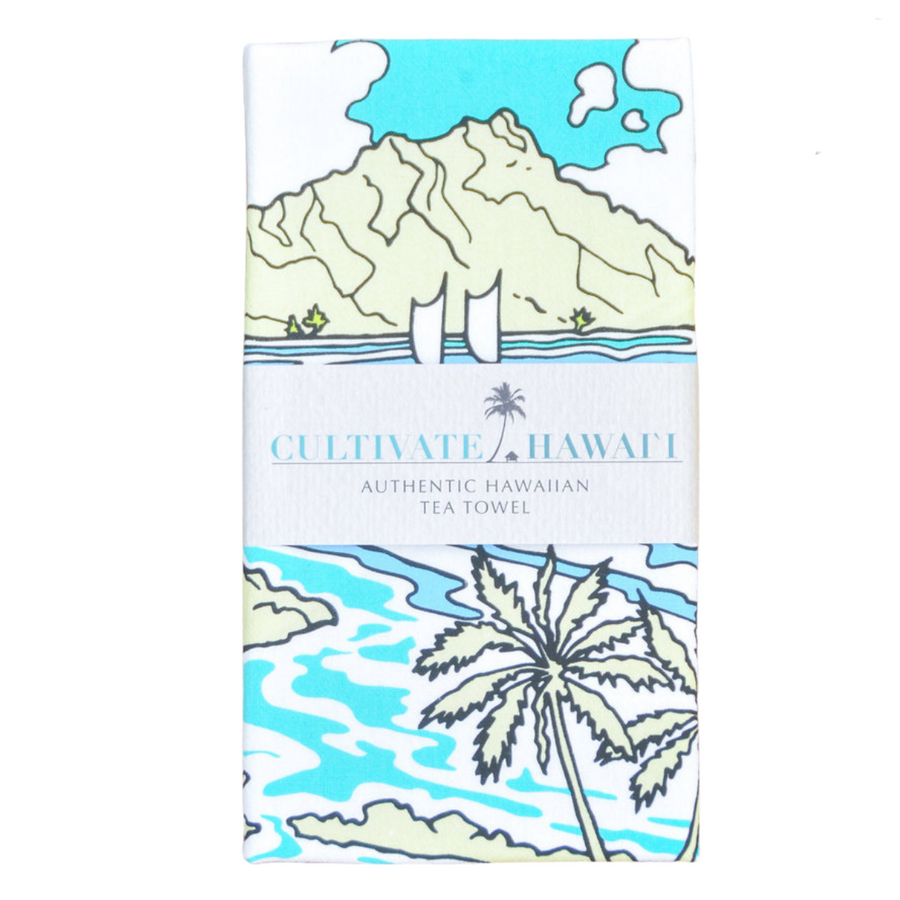 Waikiki Tea Towel