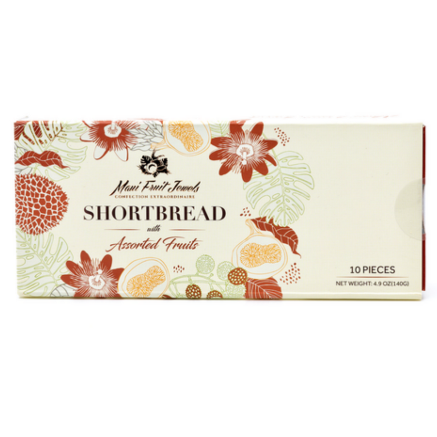 Shortbread with Assorted Fruits 10 pc
