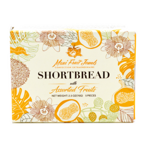 Shortbread with Assorted Fruit 6pc