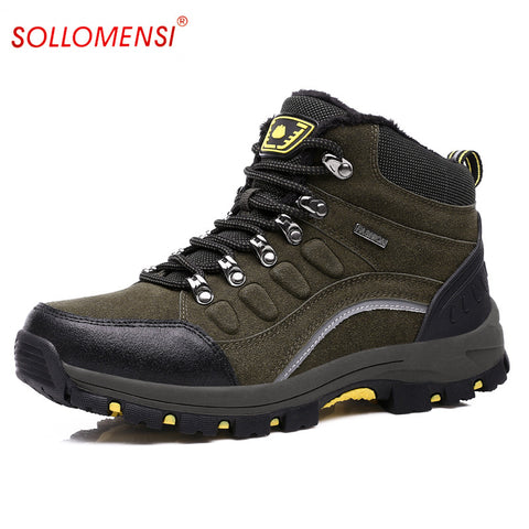 Leather Mountain Trekking Shoes