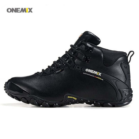 Leather Outdoor Water Proof Mountain Boots