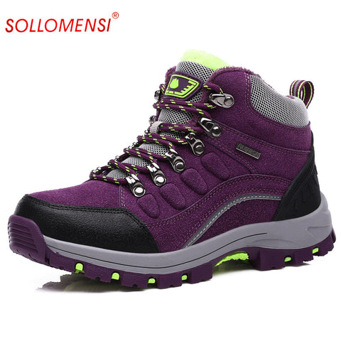 Outdoor Waterproof Climbing Boots