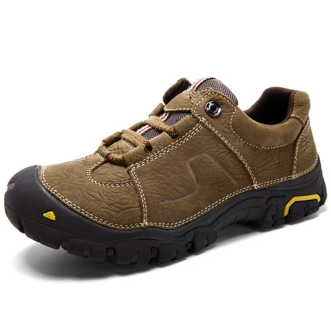 Genuine Leather Climbing Mountain Shoes