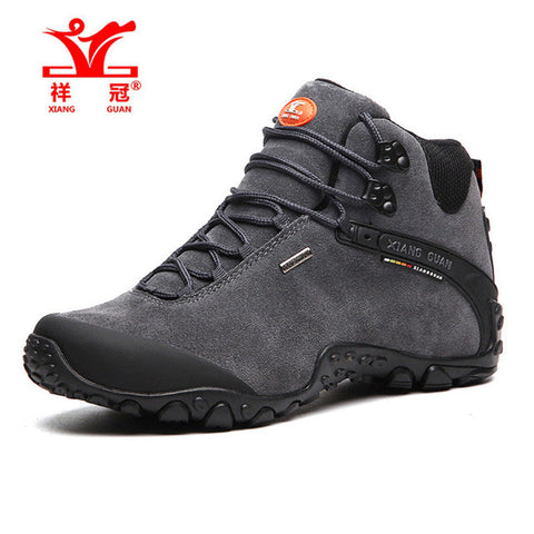 Leather Outdoor Climbing Shoes - Outdoor Sporting Goods