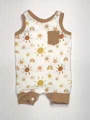 Golden Glow Romper