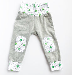 St Patrick's Day Leggings with Accent Patches
