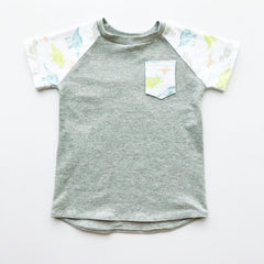Teenies and Tots Inverse Raglan Shirt