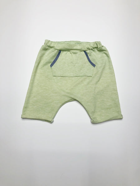 Melon French Terry Harem Shorts