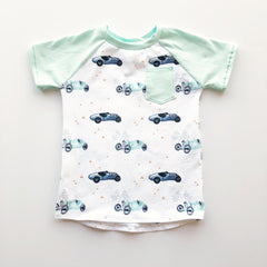 Teenies and Tots Raglan Shirt