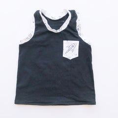 Teenies and Tots Solid Tank
