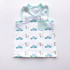 Teenies and Tots Pattern Tank
