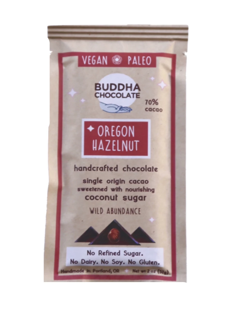 Oregon Hazelnut Buddha Chocolate