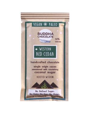 Western Red Cedar Buddha Chocolate Bar