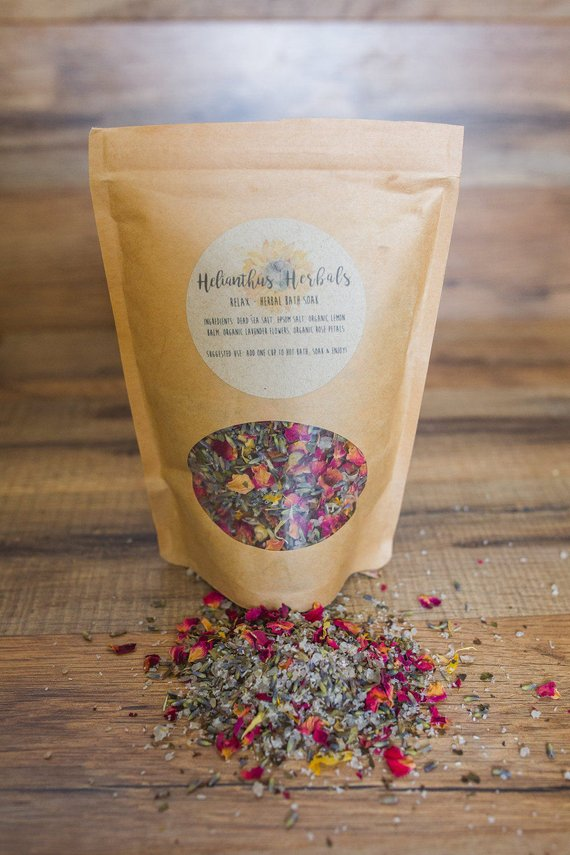 Relax Herbal Bath Soak
