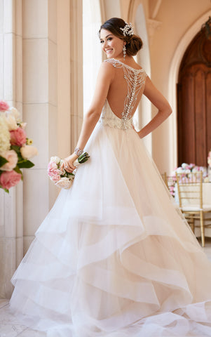 Backless Wedding Gowns Rina S Bridal Boutique