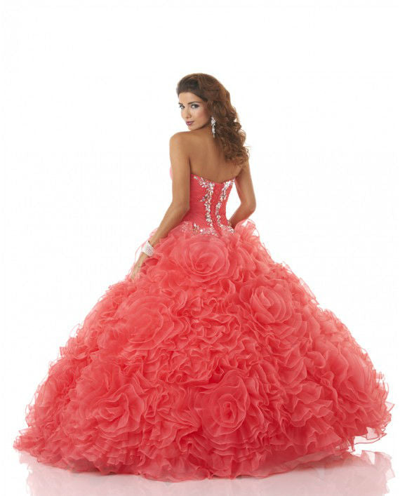 4398 Strapless Quince Dress