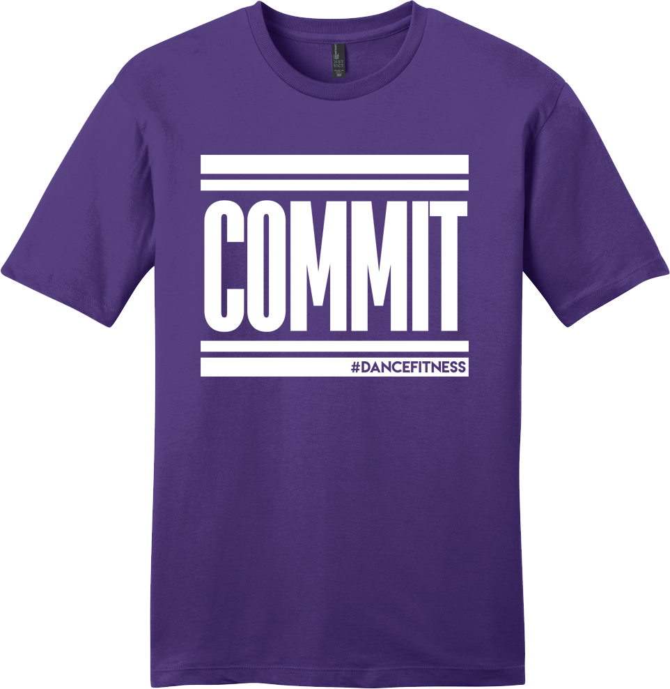 COMMIT Tee Purple