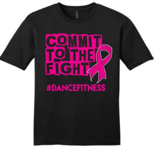 COMMIT to the Fight - Breast Cancer Tee