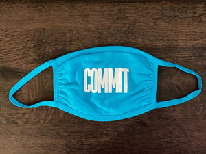 Teal COMMIT Mask