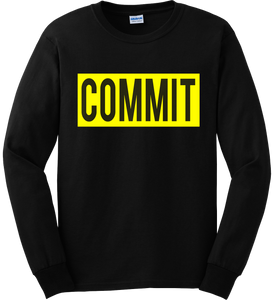 COMMIT Yellow Label Long Sleeve Tee