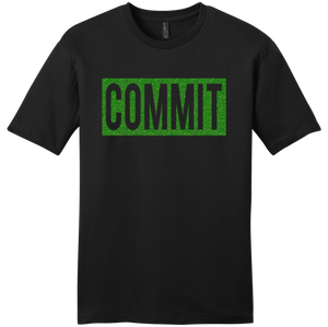 COMMIT Green Shimmer Label Tee