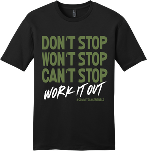 Work It Out Tee - Black
