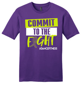 Love Fest Lupus COMMIT to the Fight Tee