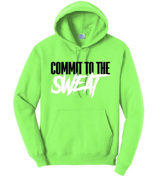 CTS Neon Green Hoodie