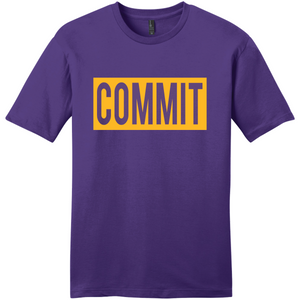 Purple with Gold Label Tee
