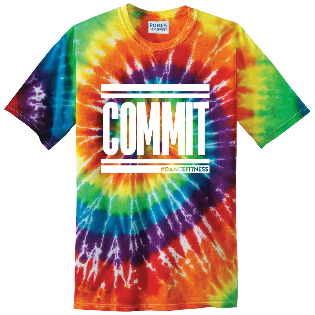 COMMIT Pride Tee- White Print