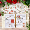 Matching Christmas Inserts available through Lights Planner Action