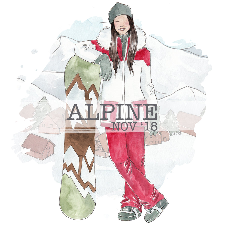 Alpine - Past Kit </br> (Nov 2018)