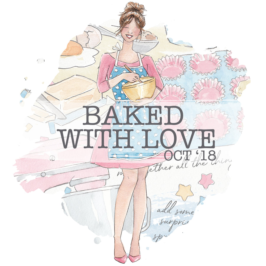 Baked with Love - Past Kit </br> (Oct 2018)