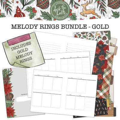 Deck The Halls Melody Rings Bundle