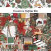 Deck the Halls Creative Digital Kit
