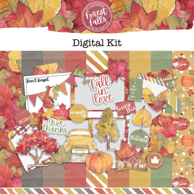 Forest Falls Creative Digital Kit